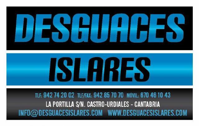 DESGUACES ISLARES - CANTABRIA 942857070